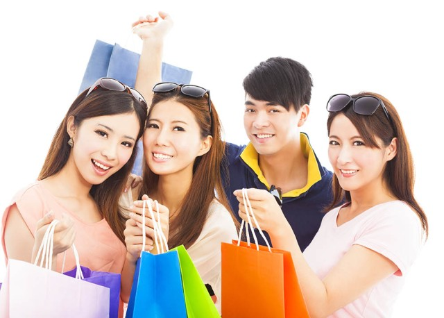 shopping woman 1